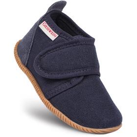 Giesswein Strass Slippers Children Slim Fit blue